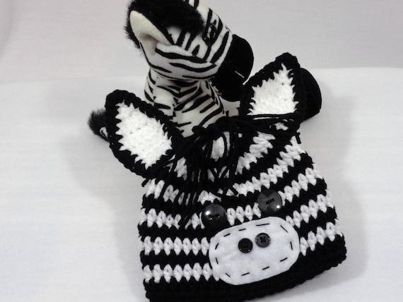 Zebra Baby Mütze Halloween Zoo Tier Hut Häkeln Und Etsy