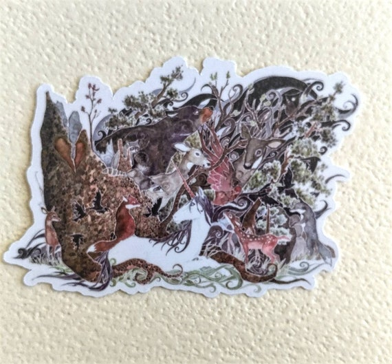 The Glass Menagerie sticker