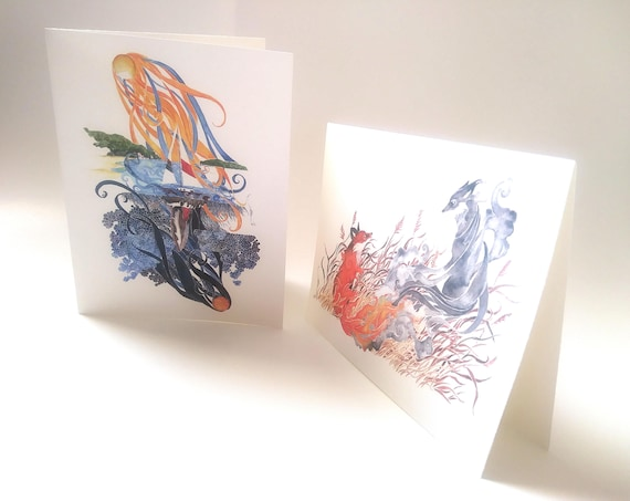 Blank note cards. (set of 4)  Image of your choice.