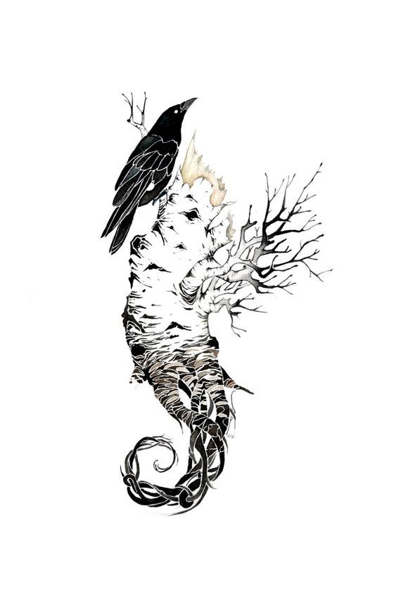 Seahorse #2 - giclee PRINT of original watercolor