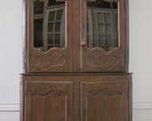 JUST REDUCED 18th century european Louis XV oak buffet deux corps from Normandy