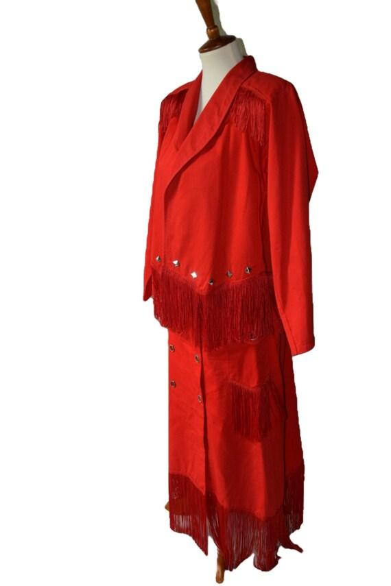 Western 2-Piece Skirt/Jacket Set - image 2