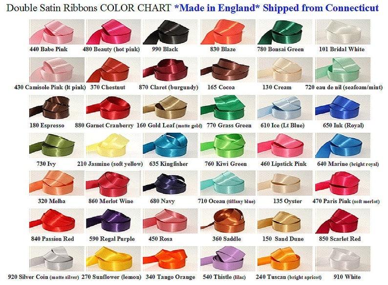 Wire-Edged Luxury Ribbon 38mm Wide Wedding Gift Wrap Royal Blue Satin