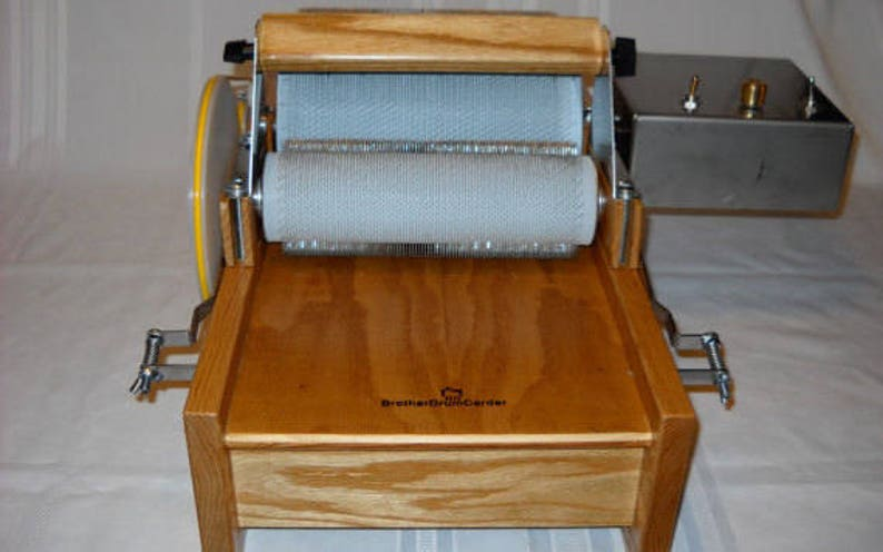 Brother Motorized Drum Carder With 10 Dollar Shop Coupon Carding the EASY  WAY!