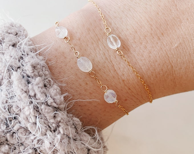 Dainty Chain Bracelet - Create Your Own