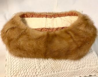 Blonde Mink Collar