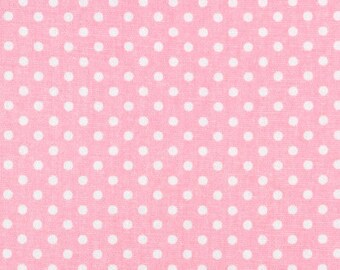 Premier Prints Dottie Baby Pink Fabric | Pink Fabric by the Yard