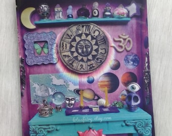 Tarot Curio Altar, Photography Art print 4 x6