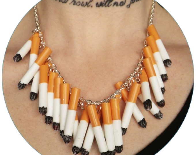 Cigarette Necklace LAST ONE!