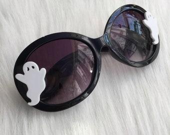 Ghost Sunglasses, Witchy Goth Halloween Eyewear