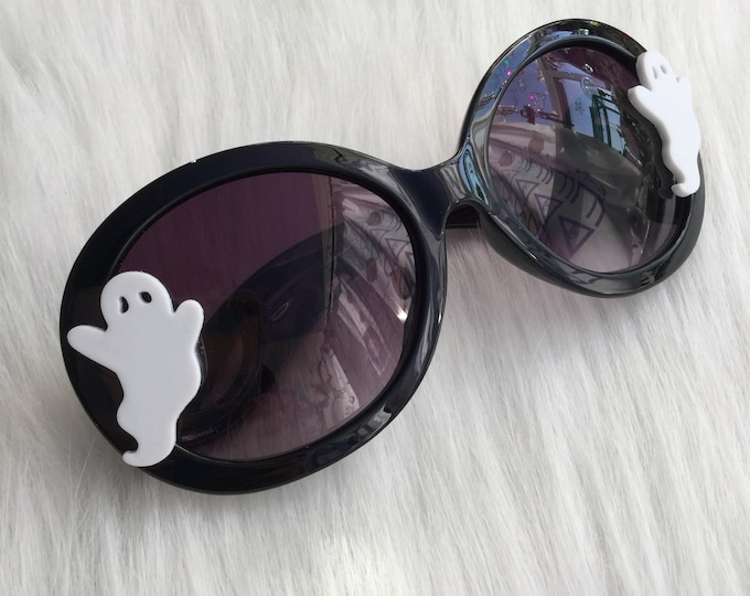 Ghost Sunglasses, Witchy Goth Halloween Eyewear