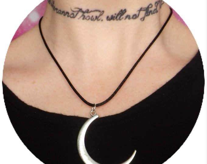 SALE Moonchild Moon necklace
