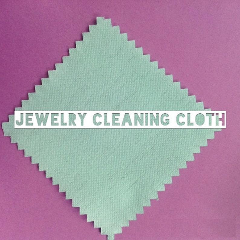 Jewelry polishing cloth 3x3 keep your pieces tarnish image 0
