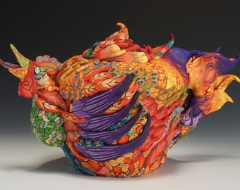 Rooster Teapot - Made to Order