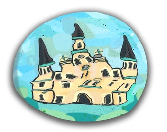 Curvilinear Cathedral  Silly Milly Polymer Clay Cane