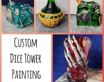 Add-on | Custom Dice Tower Painting