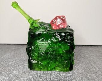 Dice Jail - Gelatinous Cube - UNPainted