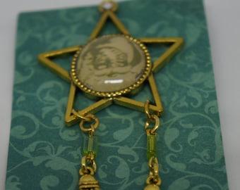 Unique, One of a kind Handmade Filipino Christmas Parol Pin (Ready to Ship)