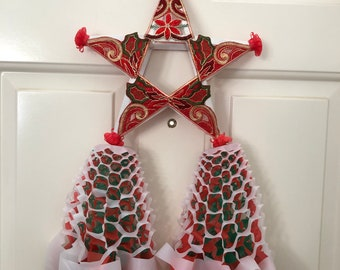 Made To Order Handcrafted 12x21 inches Filipino Christmas Parol. Made with Bamboo and Fabric