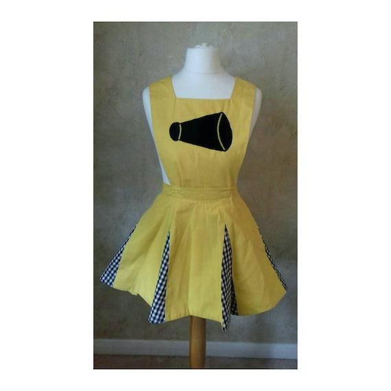 Vintage 1970s Cheerleader Gingham dress