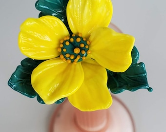 Glass primrose yellow