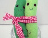 Custom Listing for rahulgopalsingh2 Plush Pickle Duo