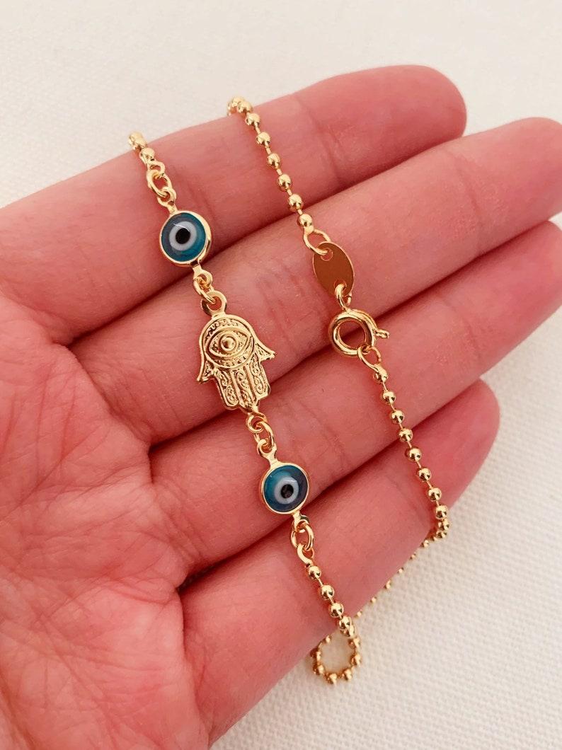 Ankle Bracelet Gold Anklet Anklet Gold Filled Anklet Gold Ankle Bracelet,Anklets Hamsa Anklet Chain Anklet,Beach Anklet Hamsa Jewelry