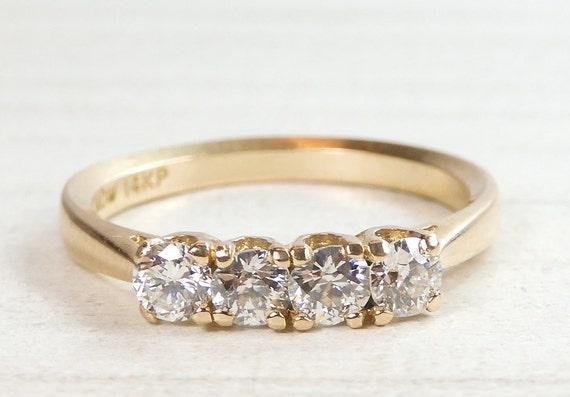 Antique Art Deco Vintage Diamond Engagement Ring S