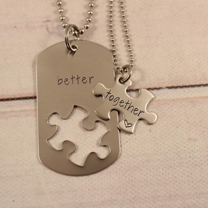 Better Together puzzle piece set