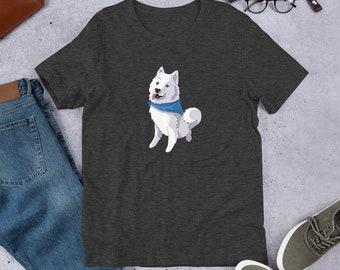 Samoyed Dog Bandana Great Pyrenees Dog Bandana PROUD CLOUD Dog Bandana
