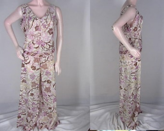 Vintage 60s Emilio Pucci Pajamas 36 Sleeveless Top Pants Formfit Rogers AS  IS 02db98fe7