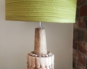 Ceramic boob lamp