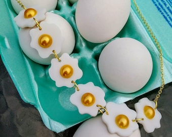 Tiny Egg Necklace