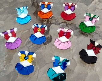 Sailor Senshi Fuku pins