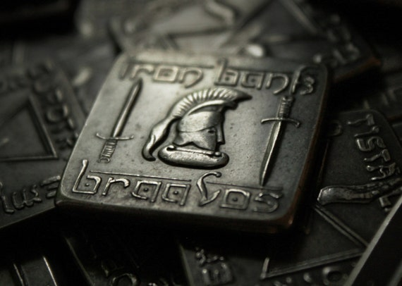 The Square Iron Bank Of Braavos Coin A Game Of Thrones