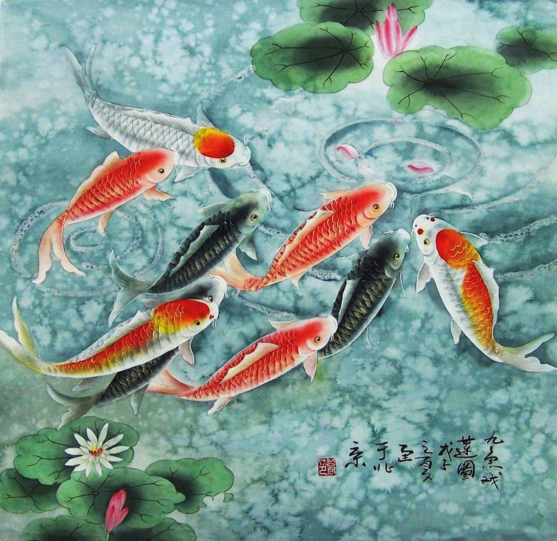 original painting oriental art chinese traditional painting image 0
