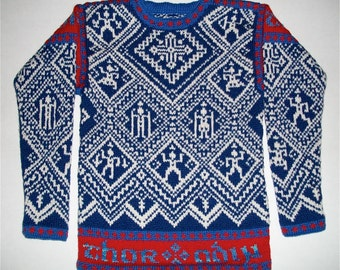 Knitting Pattern: Norse Myths Nine Years