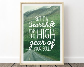 Phish Antelope Set The Gearshift for the High Gear of Your Soul T-Shirt