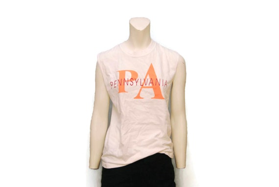 a5f92738f0bf3b Vintage PA Pennsylvania Muscle Tank Top T-Shirt Calvin Klein