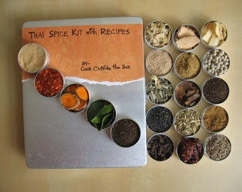 Large Thai Spice kit with RECIPES