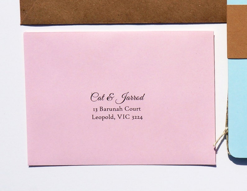 Envelope Printing Add-On for RSVP Envelope image 0