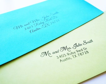 Envelope Printing Add-On for sizes #10 and A7