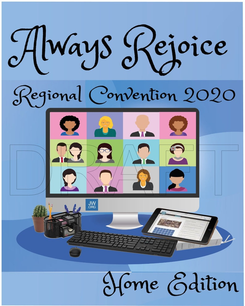 Always Rejoice 2020 Jw Zoom Convention Printable Jw Social Etsy Bringing the world together, one meeting at a time. always rejoice 2020 jw zoom convention printable jw social isolation jw printable greeting card jw gift jehovah best life ever