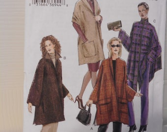 Sewing Pattern Vogue 7783 size One Size, Misses Small Medium Large and Extra Large, Misses Cape and Shawl