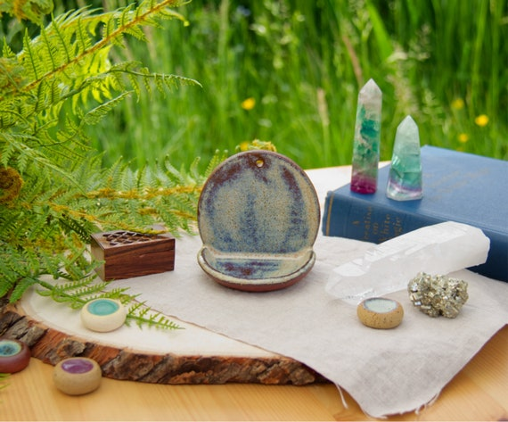 Touchstone Altar - A ceramic wall altar for items supporting your current  intentions  Witchy pottery!