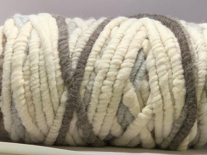 100% Alpaca CoreSpun Rug Yarn image 0