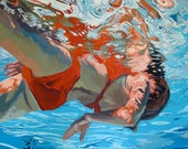 """Sink in, float: 11x11"""" Archival Print - Signed"""