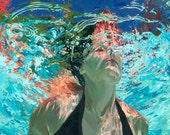 """Emerge, Clear Waters: Matted 7.5x9.5"""" Archival Print - Signed"""
