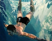 """Deep Dive: 11x11"""" Archival Print - Signed"""