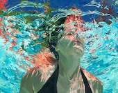 """Emerge, clear waters: 7.5x9.5"""" Archival Print - Signed"""